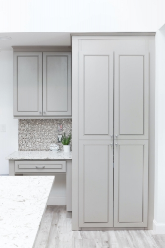 AZ Stone _ Tile Concepts Greige Kitchen Cabinet Remodeling