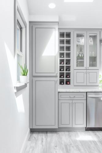 AZ Stone _ Tile Concepts Greige Kitchen Cabinets Remodeling