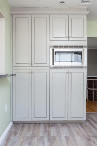 AZ Stone _ Tile Concepts Greige Kitchen Cabinets Remodeling Project
