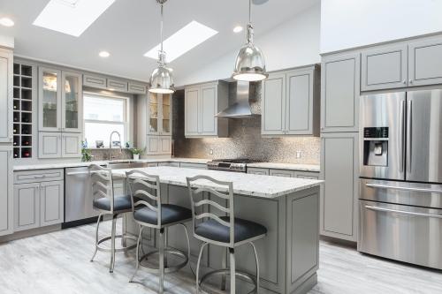AZ Stone _ Tile Concepts Greige Kitchen Dining Space Remodeling