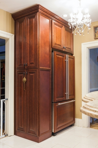 AZ Stone _ Tile Concepts Mahogny Kitchen Cabinets Full Remodeling