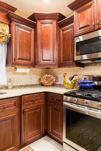AZ Stone _ Tile Concepts Mahogany Kitchen Cooking Section Remodeling