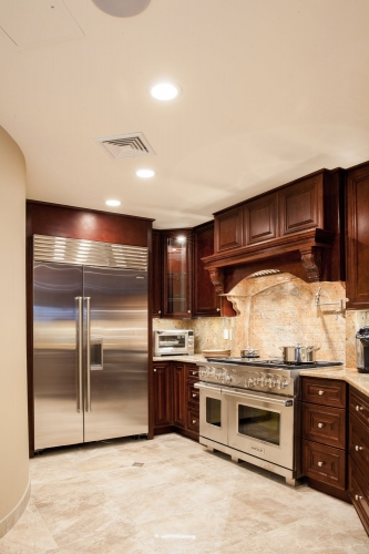 AZ Stone _ Tile Concepts Mahogany Kitchen Remodel