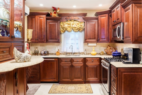 AZ Stone _ Tile Concepts Mahogany Kitchen Remodeling Front View