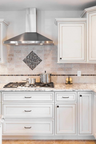 AZ Stone _ Tile Concepts Pearl Glazed Kitchen Cabinet Remodeling