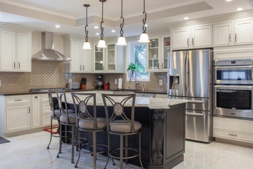 AZ Stone _ Tile Concepts Pearl Glazed Kitchen Remodeling Dining Area