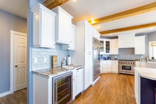 AZ Stone _ Tile Concepts White Kitchen Remodel Side View
