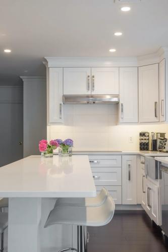 AZ Stone _ Tile Concepts White Kitchen Remodeling Dining