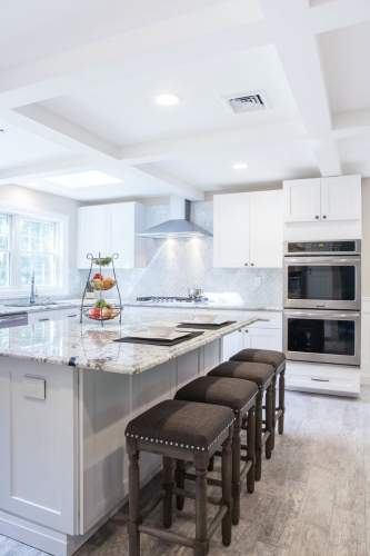AZ Stone _ Tile Concepts White Kitchen Remodeling Dining and Counter Top Section