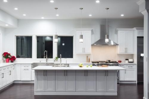AZ Stone _ Tile Concepts White Kitchen Remodeling Front Section