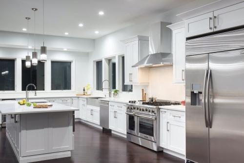 AZ Stone _ Tile Concepts White Kitchen Remodeling Side View