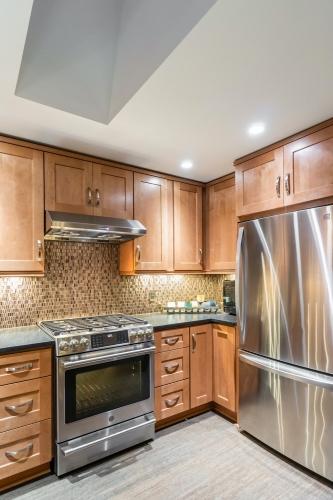 Almond Kitchen Remodel