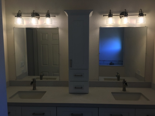 Bathroom Sink Area Remodeling