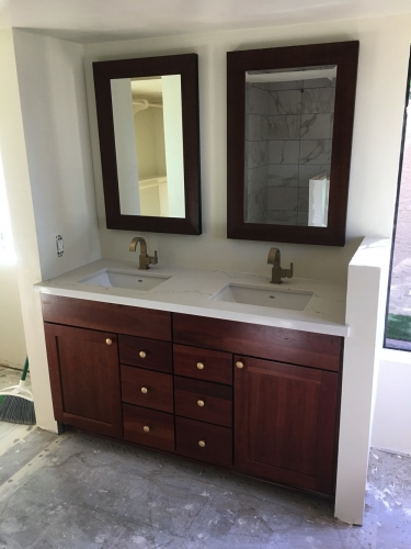 Bathroom Sink Redone
