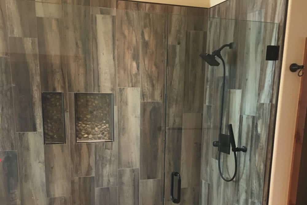 Custom Tile Shower Replacement
