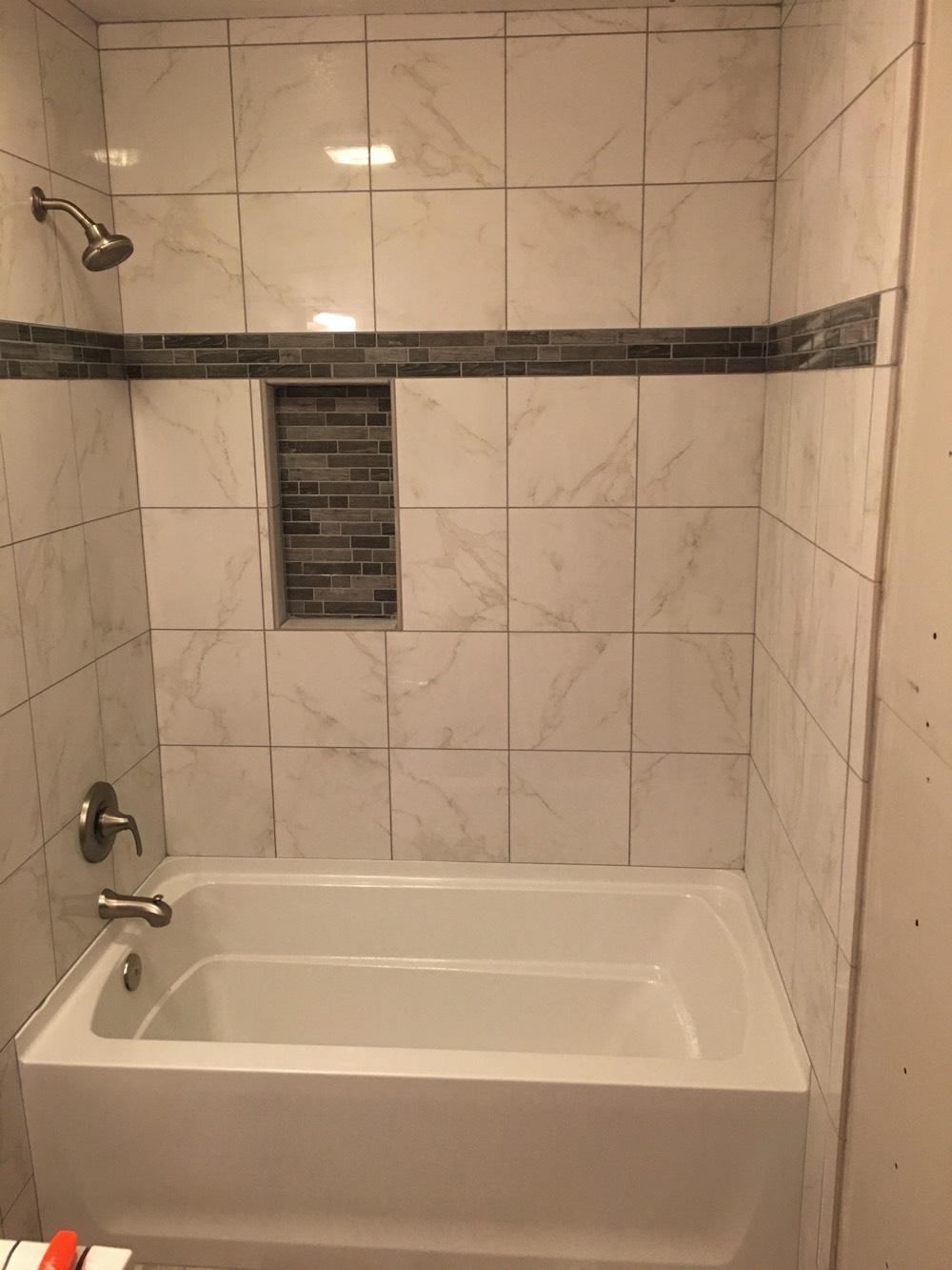 Bathtub Area Remodeling