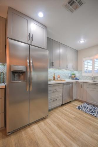 Castle Grey Kitchen Remodel