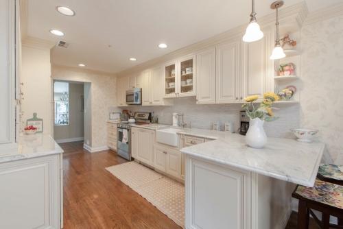 Creme Glazed Kitchen Remodel View